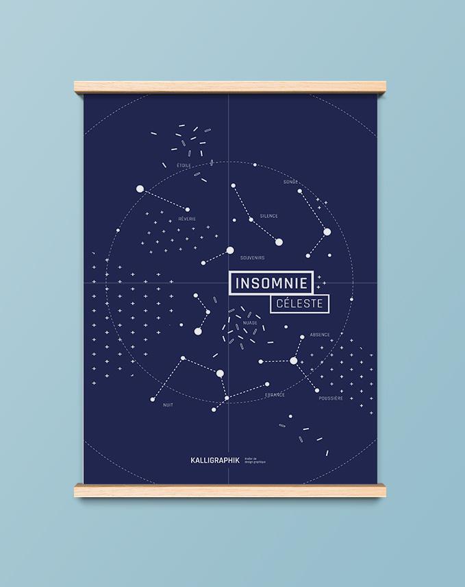 Affiche insomnie céleste